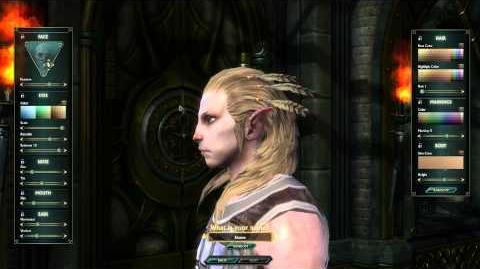 High Elf Male Character Customization - CBT