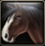 Swift Gold Armored War Horse Bridle Icon