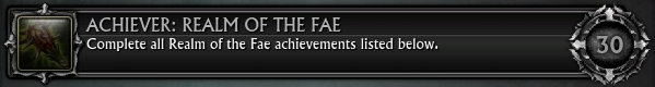 Achiever Realm of the Fae