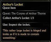Arthur's Locket