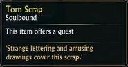 Torn Scrap