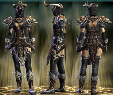 PvP R6 Cloth Set Theurgist Female