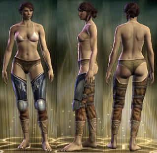 Plate 2 - Copper Legs Female