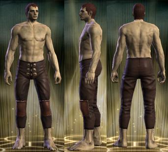 Bruiser's Legs Male
