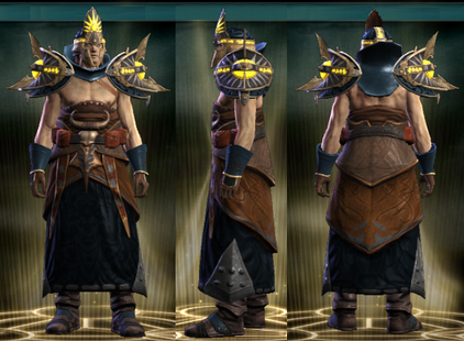 PvP R4 Cloth Seer Set Male