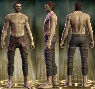 Dean's Chain Legs Male