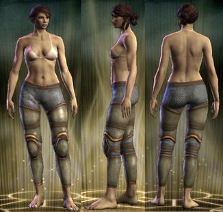 Hussar's Plate Legs Female