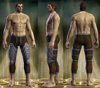 Silver Legs Male