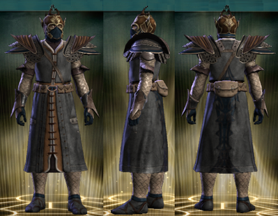 PvP R4 Leather Seeker Set Male