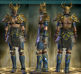 PvP R4 Plate Tactician Set Female