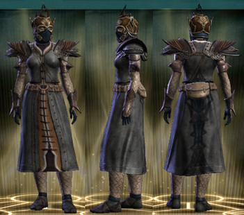 PvP R4 Leather Seeker Set Female