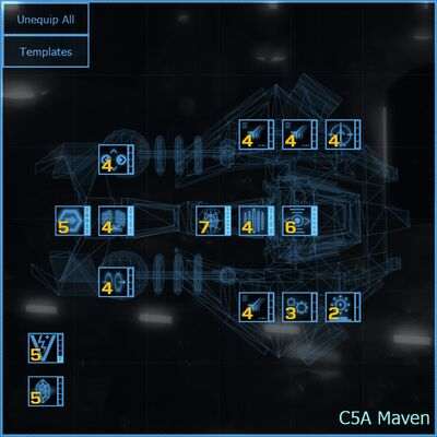 C5A Maven blueprint updated