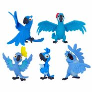 Rio2 Blue Macaw Family Pack