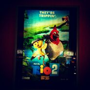 Rio 2 Poster ft. Nico and Pedro