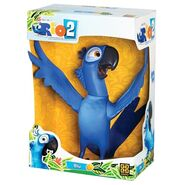 Large Vinyl Blu toy2
