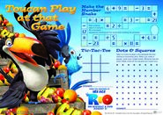 Rio activity sheet toucan