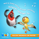 Rio 2 Nico & Pedro Grammy Coverage