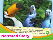 Rio Read & Play app Narrated Story