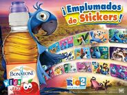 Rio 2 Bonafont stickers