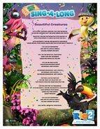 Rio 2 sing along Beautiful Creatures