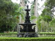 Rio de Janeiro Botanical Garden Foutain
