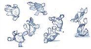 Capoeira turtles art 2