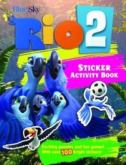 Rio 2 Sticker Activity Book 1