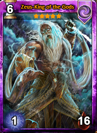 Zeus-King of the Gods