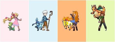 The Big Four Pokemon