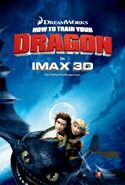 How to train your dragon imax poster