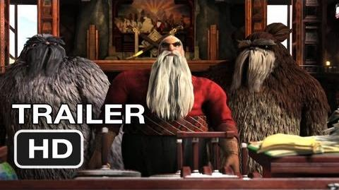 Rise of the Guardians - Official Trailer 1 - Alec Baldwin MOVIE (2012) HD