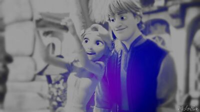 Kristoff and Rapunzel 4