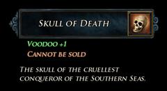 LI Skull of Death Stats