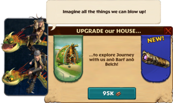 Ruffnut & Tuffnut's house Upgrade Quest