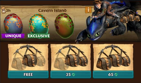 Cavern Island