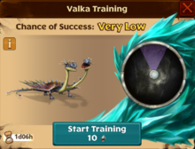 Barf & Belch's Mate Valka First Chance
