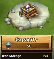 Iron Storage Lv 3