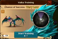 Steeltrap Valka First Chance