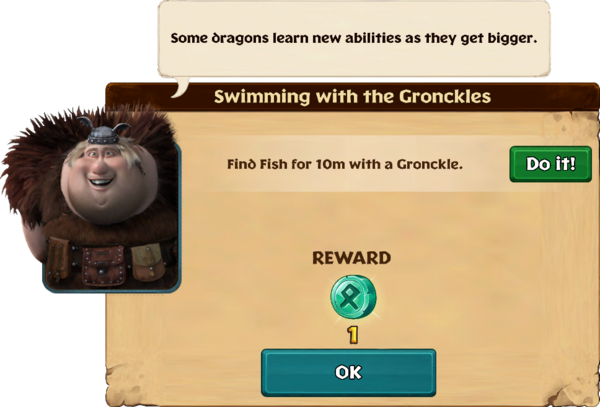 Swimming with the Gronckles