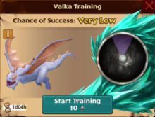 Frostfright's lil sis Valka First Chance