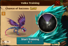 Stormfly's Offspring Valka First Chance