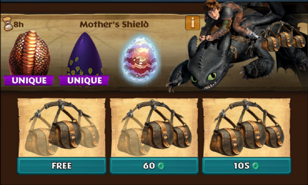 Mother's Shield (Cloudjumper & Valka's Seashocker)