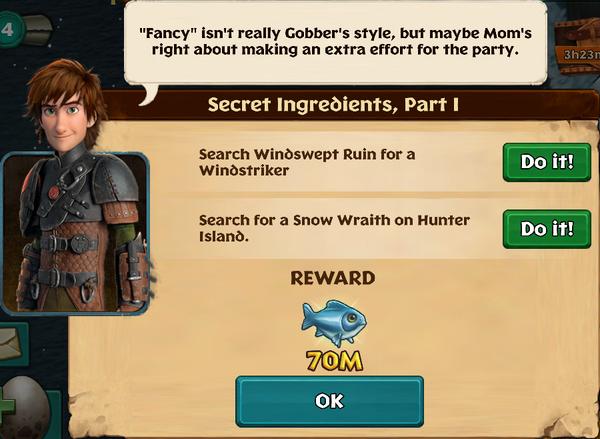 Secret Ingredients, Part I