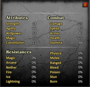 All Stats