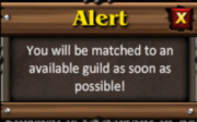 Alert matching gw