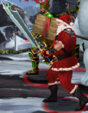 Slaughter claus himself