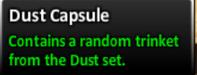 Dust capsule