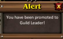 Alert guild leader