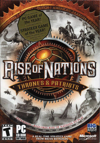 File:Rise of Nations - Thrones and Patriots Front cover.jpg