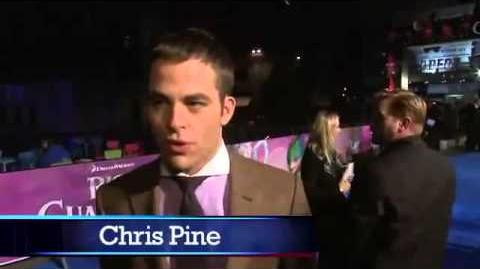 Chris Pine and Isla Fisher at Premiere of Rise of The Guardians